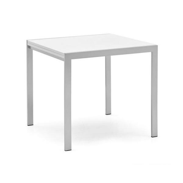 Tavolo Bianco 80x80 Allungabile.Tavolo Allungabile Aladino Book Cb 4742 Lb 80 Di Connubia Calligaris