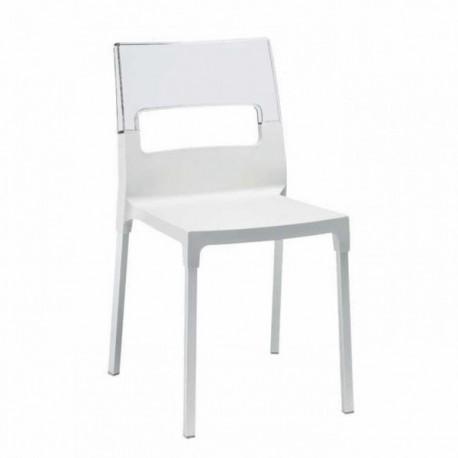 Sedie In Alluminio E Plastica.Sedia Diva Scab Design