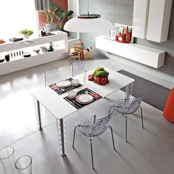 Sedia modello Ice CB/1038 firmata Connubia by Calligaris