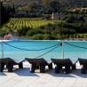 CHAIS LONGUE LOW LITA LOUNGE LLL060 - Lettino prendisole in polietilene  disponibile in vari colori, ideale per piscine.