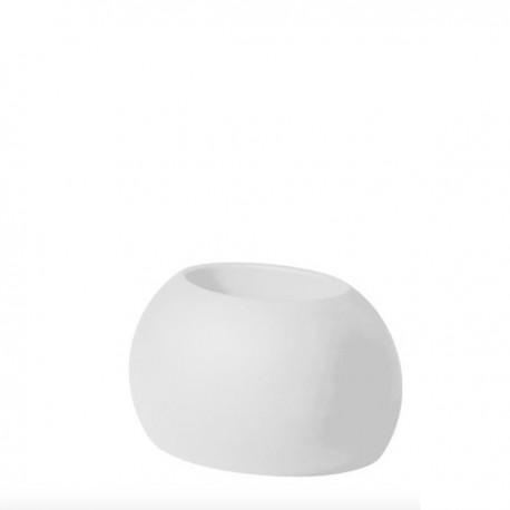VASO BLOS POT BLP032 - Realizzato in polietilene nel colore Bianco Latte FT, per interno ed esterno.