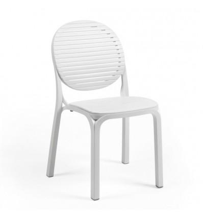 Sedia Dalia senza braccioli - In polipropilene nel colore Bianco