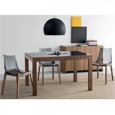Tavolo Allungabile In Noce.Tavolo New Smart Cb 4704 130 Di Connubia Calligaris