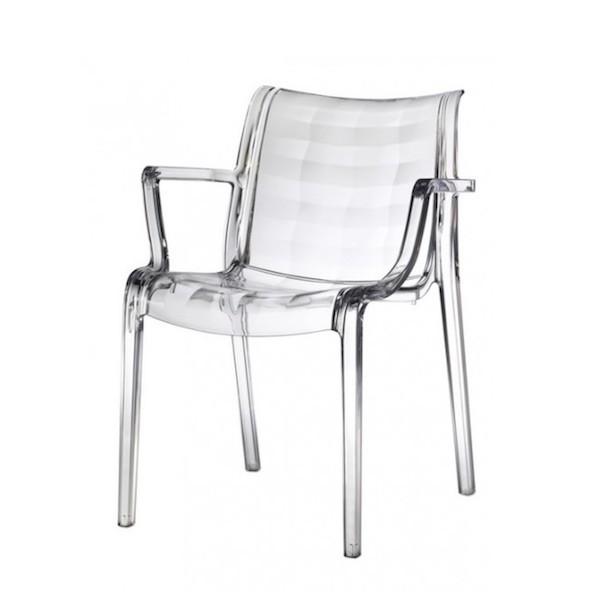 Sedie Trasparenti Con Braccioli.Poltrona Modello Extraordinaria Trasparente Scab Design