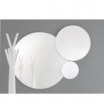 Specchi Tondi Varie Misure.Specchio Rotondo Eclipse Con Cornice In Legno Laccato Tre Dimensioni