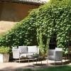 Poltrona Lounge Desiree Fabric di Vermobil - Struttura Bianco Perla, Tessuto Grigio