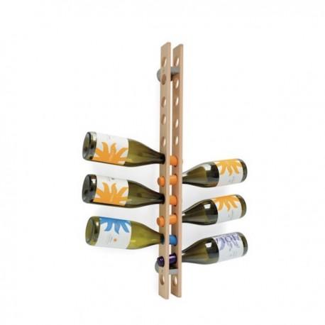 PORTABOTTIGLIE ARSENAL CB/5052 - in legno di faggio color Faggio Sbiancato P02