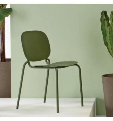 Sedia Si-Si 2503 Scab Design - Verde Oliva