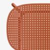 Sedia Si-Si Dots 2505 Scab Design - Colore Terracotta, dettaglio sedile