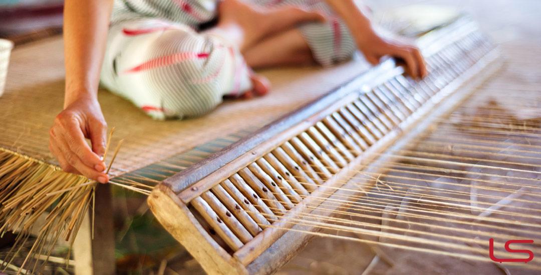 tappeti in bambù